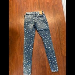 3/20$ Old navy rockstar super skinny jeans  0